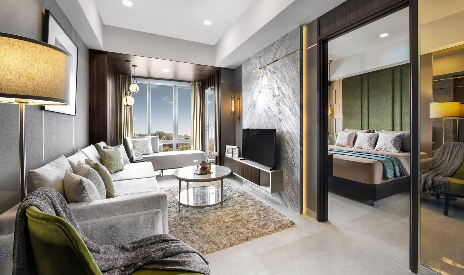 Luxurious Deluxe (A,L) - Living Room