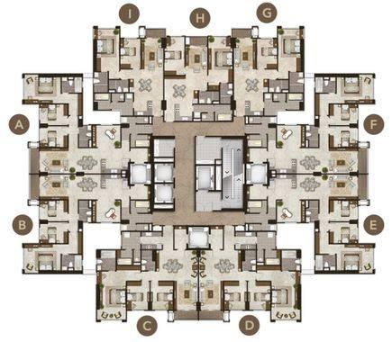 Luxurious Platinum (Southern A,B) - Floor Plan