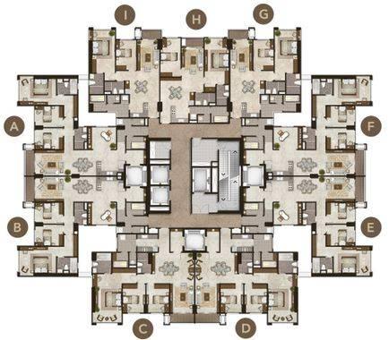 Luxurious Premier (Southern H 1- 6th floor) - Floor Plan