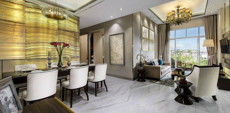 Luxurious Premier (Southern H 1- 6th floor) - Living Room